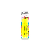 Sharpie, Accent Highlighters, Medium Point, Yellow, Pack of 2