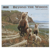 The Lang Companies, Beyond The Woods 2022 Wall Calendar, 13 1/2 x 24 inches
