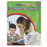 Carson-Dellosa, Compare and Contrast Resource Book, Spotlight on Reading, Paperback, Grades 3-4