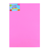 Silly Winks, Thick Foam Sheet, 12 x 18 inches, Neon Pink