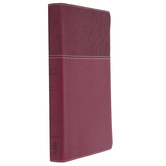 NASB 20 Thinline Bible, Large Print, Imitation Leather, Multiple Colors Available, Thumb Indexed