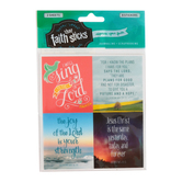 Faith that Sticks, The Lord is My Shepherd Stickers, 1.25 x 1.25 Inches, Multi-Colored, Pack of 78