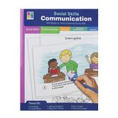 Carson-Dellosa, Social Skills Communication, Special Needs, Reproducible, 64 Pages, Grades PreK-2