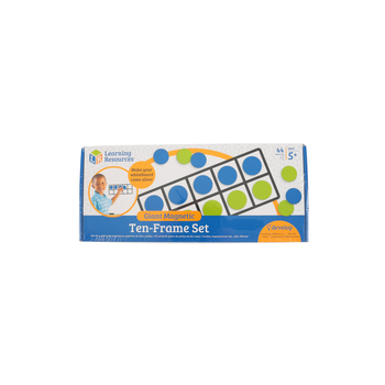 Learning Resources, Giant Magnetic Ten-Frame Set, 44 Pieces, Grades K and up