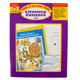 Evan-Moor, Take It To Your Seat Literacy Centers Teacher Resource, Paperback, 192 Pages, Grades 3-4