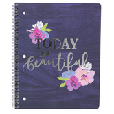 Carolina Pad, The Silver Lining Collection, Notebook, 80 Sheets, 10 1/2 x 8 1/2 inches