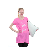 NOTW, Give It To God and Go To Sleep, Women's Sleep Shirt, Fuchsia, S-XL