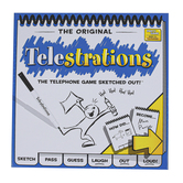 USAopoly, Telestrations: The Telephone Game Sketched Out, 4 to 8 Players, Ages 12 & Older
