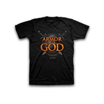 Kerusso, Ephesians 6:11, Armor of God, Men's Short Sleeve T-Shirt, Black, S-2XL