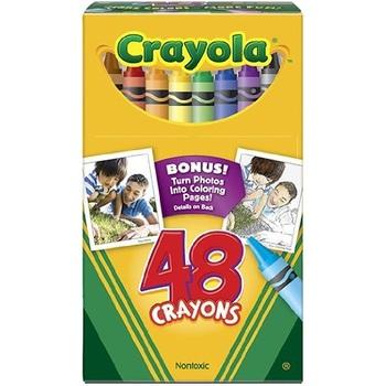 Classic Crayola Crayons, 48 Count