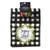 Brother Sister Design Studio, Rejoice in the Lord Always Treat Bags, 6 1/2 x 5 inches, Set of 24