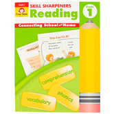 Evan-Moor, Skill Sharpeners Reading Activity Book, Paperback, 144 Pages, Grade 1