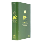NLT Life Application Study Bible, Third Edition, Hardcover, Green