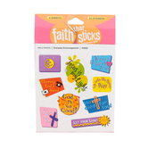 Faith that Sticks, Everyday Encouragement Stickers, 1-2 Inches Inches, Multi-Colored, Pack of 54