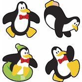 TREND enterprises Inc., Perky Penguins superShapes Stickers, Multi-Colored, Pack of 800