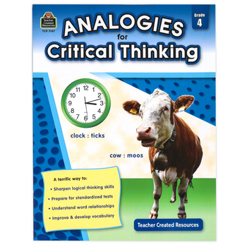 Teacher Created Resources, Analogies for Critical Thinking Resource, Grade 4