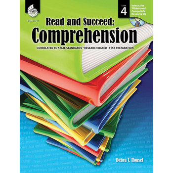 Read and Succeed: Comprehension Level 4 W/ CD-ROM