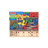 Melissa & Doug, Wooden Construction Set in a Box, Ages 4 to 6 Years Old, 48 Pieces