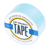 Light Blue Art Project Tape, 1 7/8 inches x 20 yards, 1 Roll