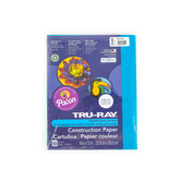 """Pacon, Tru-Ray Sulphite Construction Paper Pack, Atomic Blue, 50Ct, 9""""X12"""""""