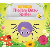Sing and Slide: The Itsy Bitsy Spider, by Yi-Hsaun Wu, Sound Book