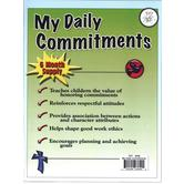 Top Notch Teacher, My Daily Commitments, 8.5 x 11 Inches, Pack of 26