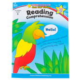 Home Workbooks Gold Star Edition Activity Book: Reading Comprehension, 64 Pages, Grade 3