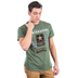 Red Letter 9, Matthew 5:9, Peacemakers Army Short Sleeved T-Shirt, Military Green