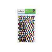 Chalk Talk Collection, Mini Incentive Stickers, Multi-Colored Stars, 1,050 Stickers