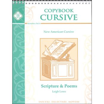 Memoria Press, Copybook Cursive Scripture and Poems
