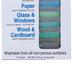 The Pencil Grip, Wonder Stix Washable Set, Multi-Colored, Set of 12, Grades PreK-Adult