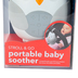 Skip Hop, Stroll & Go Owl Portable Baby Soother, Gray and White, 4 x 3 x 5 1/2 inches