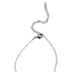 Divinity Boutique, Cherished Woman Mom Heart Necklace, Silver-tone, 16 inch Chain