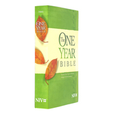 NIV One Year Bible, Paperback, Green