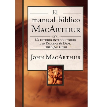 El Manual Biblico MacArthur, by John F. MacArthur, Hardcover