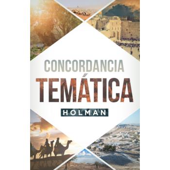 Concordancia Tematica Holman, by B&H Espanol, Hardcover
