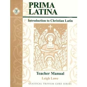 Memoria Press, Prima Latina Teacher Manual