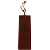 Christian Art Gifts, Names of God Bookmark, LuxLeather, Brown, 6 1/2 x 2 1/8 inches