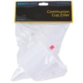 Salt & Light, Button Release Communion Cup Filler, 5 x 3 inches