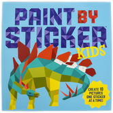 Paint by Sticker Kids Activity Book, Paperback, 34 Pages, Ages 5-9