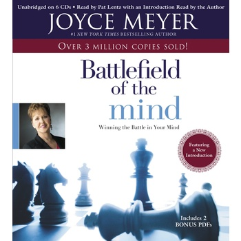 Battlefield of the Mind: Winning the Battle in Your Mind, by Joyce Meyer, Audiobook