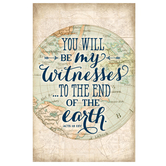 Salt & Light, You Will Be My Witnesses Church Bulletins, 8 1/2 x 11 inches Flat, 100 Count