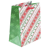Renewing Faith, Jesus Is The Reason For The Season Small Gift Bag, 8 1/2 x 6 1/2 x 4 inches