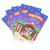 Renewing Faith, The Christmas Story Gospel Tracts, 5 1/4 x 3 1/2 inches, Set of 50 Tracts
