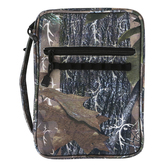 Dicksons, Forest Camo Bible Cover, Polyester Canvas, Multiple Sizes Available