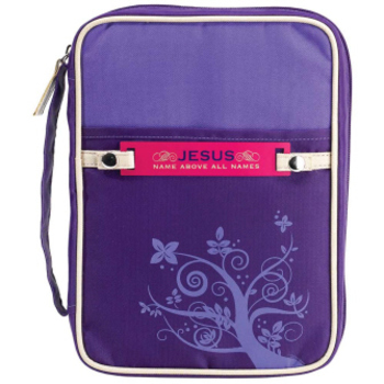 Dicksons, Canvas Purple Cover with Tags, Large