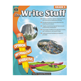 Teacher Created Resources, The Write Stuff 5 Resource Book, 160 Pages, Grade 5