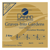 Graves Into Gardens, Accompaniment Track, As Made Popular by Elevation Worship, CD