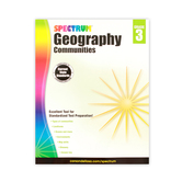 Spectrum, Geography Communities Workbook, Paperback, 128 Pages, Grade 3
