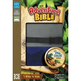 NIV Adventure Bible with Clip, Duo-Tone, Blue and Gray